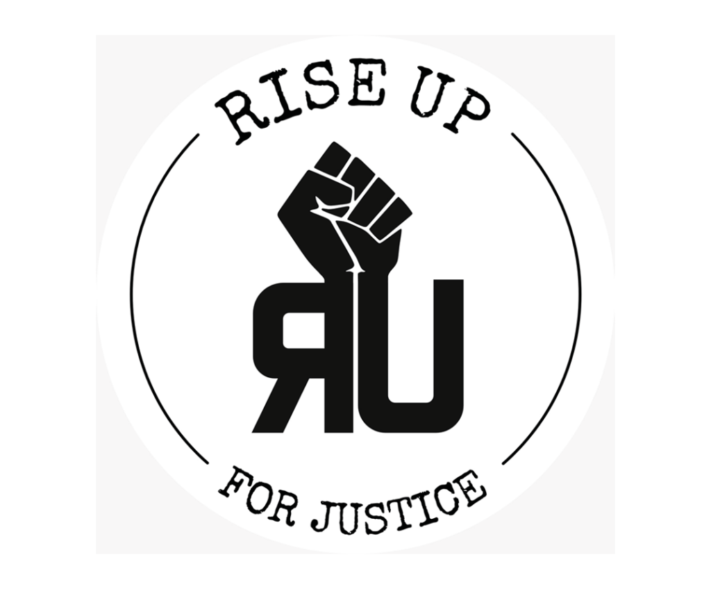 Logo Rise Up for Justice Bielefeld
