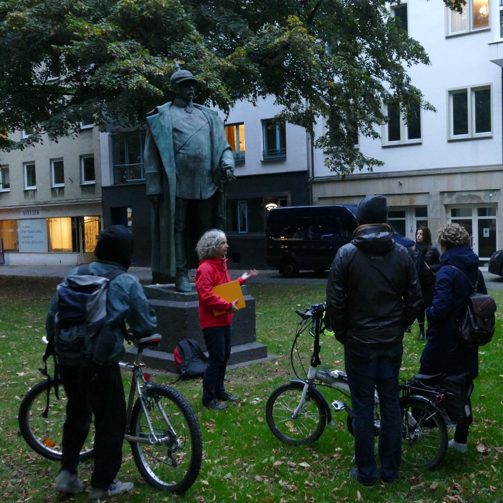 Stadtführung: Koloniale Denkmäler in Bielefeld vom Welthaus Bielefeld